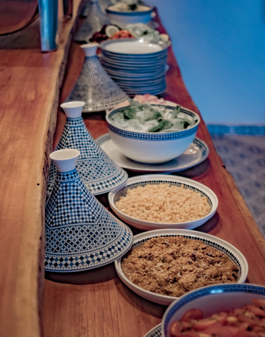 Balances meals offered at Dakhla Evasion Restaurant
