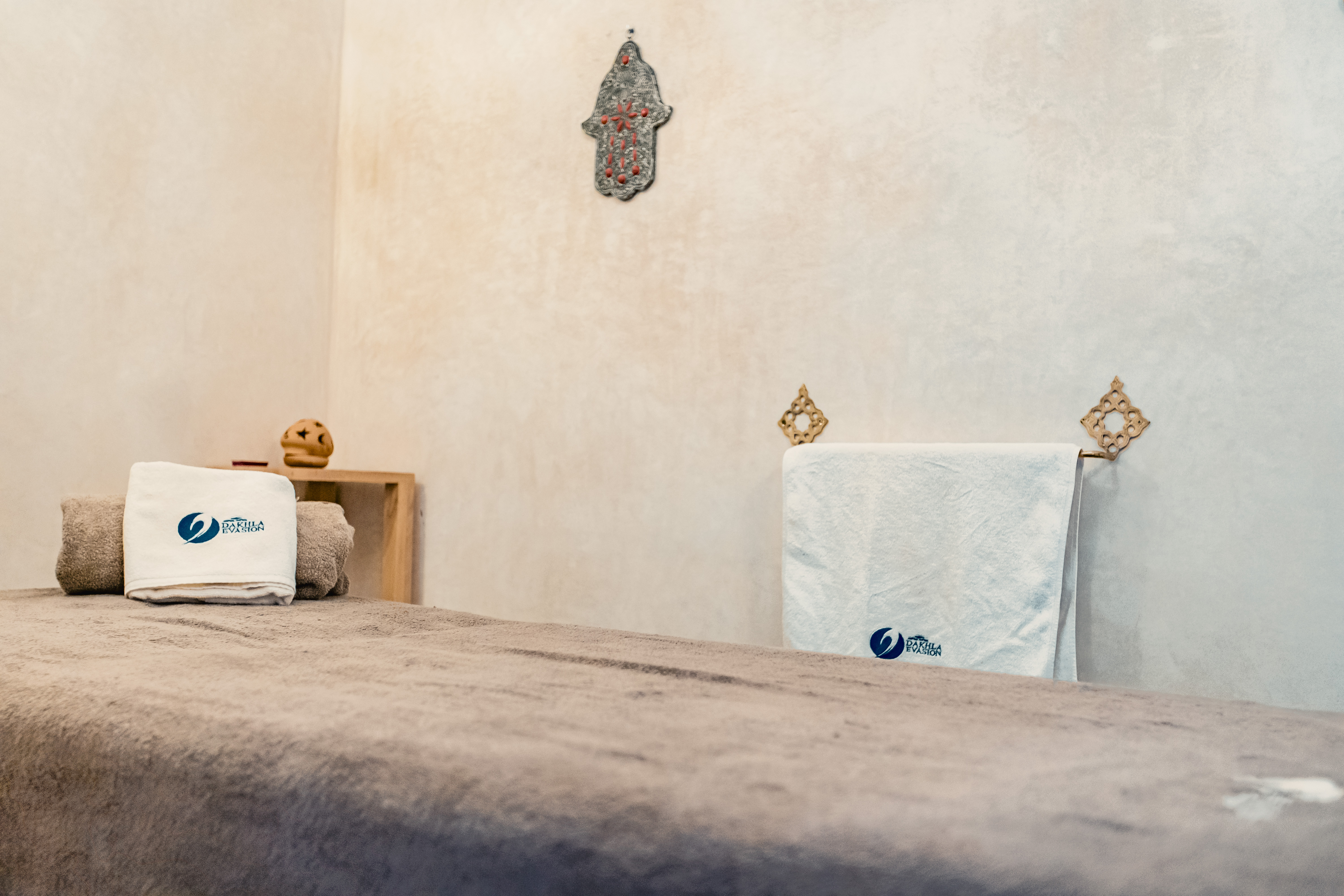 Relaxing at Dakhla Evasion Spa