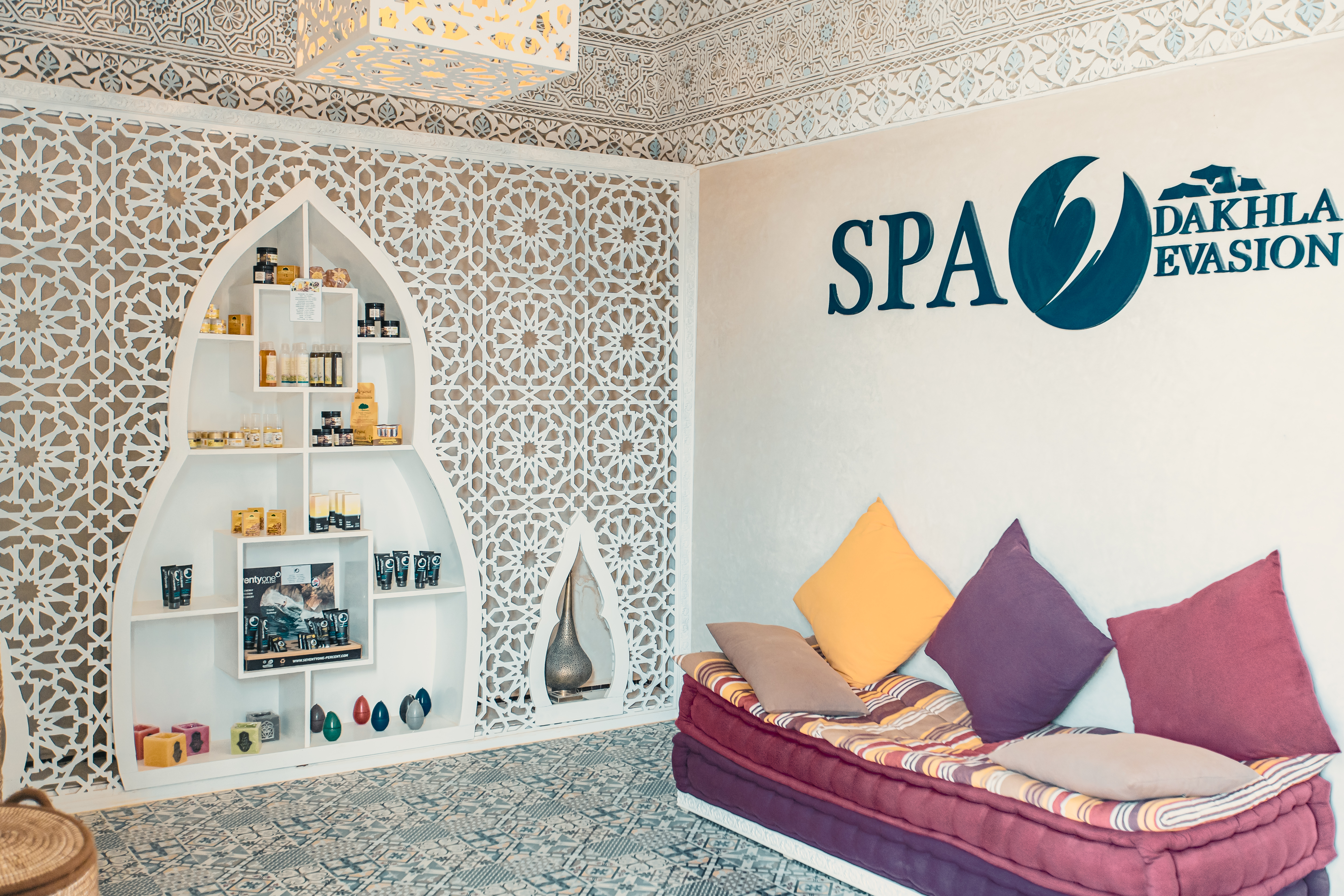 Argan oil at Dakhla Evasion Spa