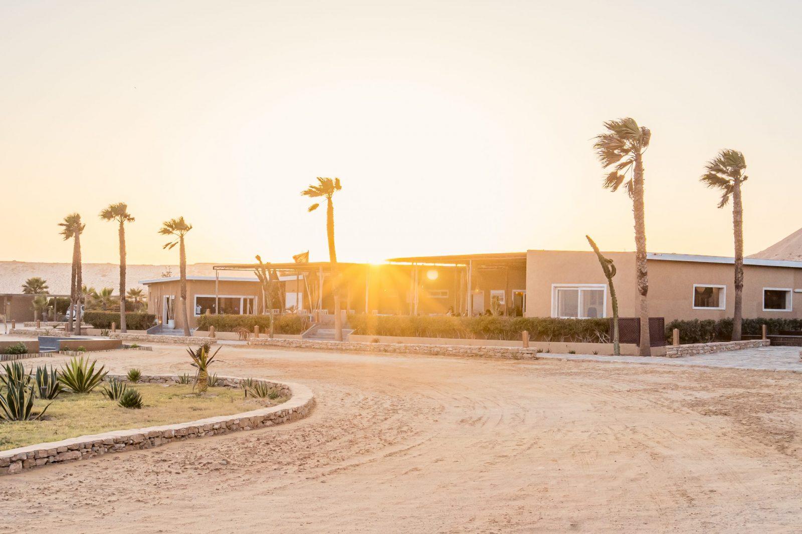 Coucher de soleil sur Dakhla Evasion