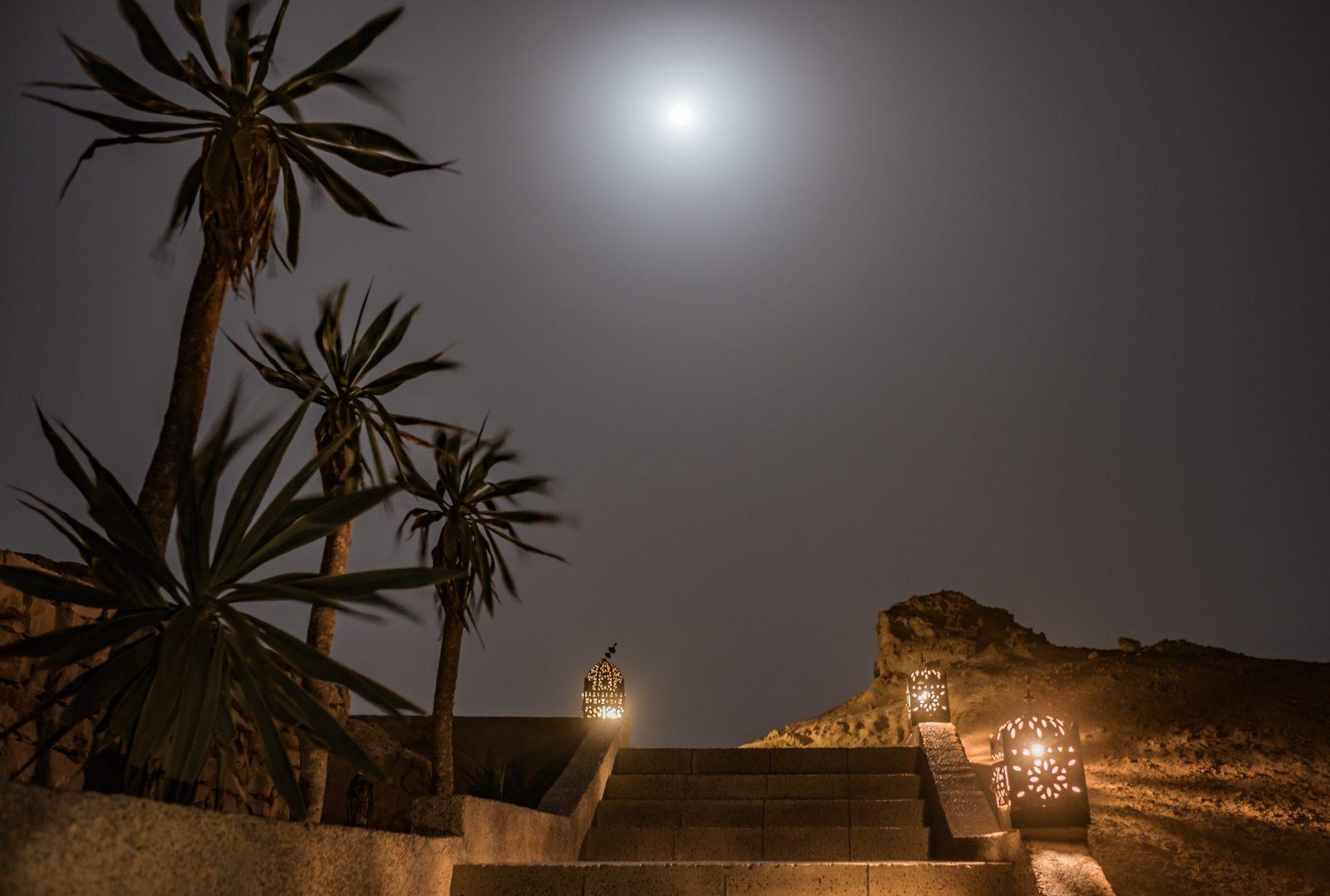 Pleine lune à Dakhla Evasion